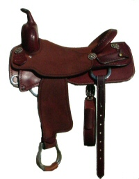 koen Saddle Shop, Custom cutting and reining saddles.